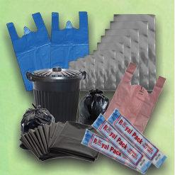 PLASTIC BAGS&ROLLS